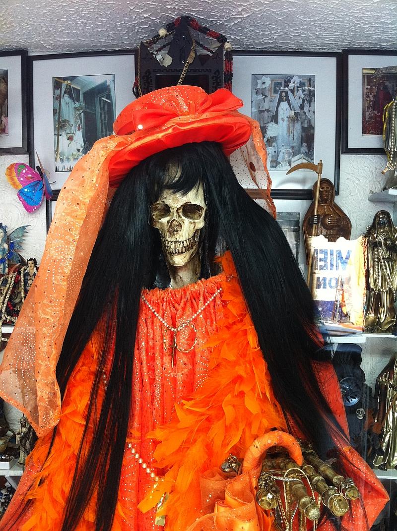 Raymond Behm :: Witchcraft and Santa muerte